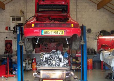 MJ TECHNIC SPECIALISTE PORSCHE RESTAURATION PORSCHE 911 964 C4 CARRERA 4 (12)