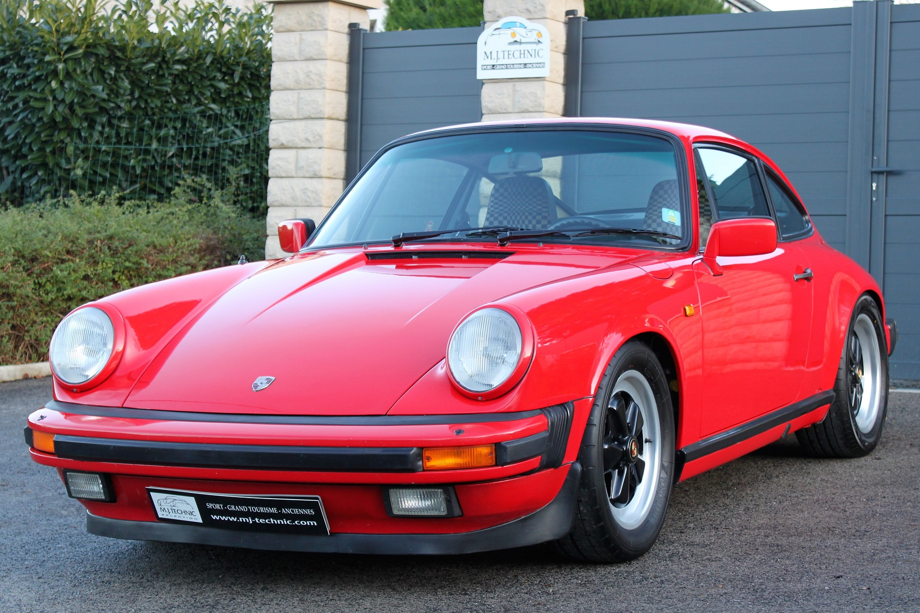 PORSCHE 911 3.2L 915 ROUGE INDIEN MJ TECHNIC (1)
