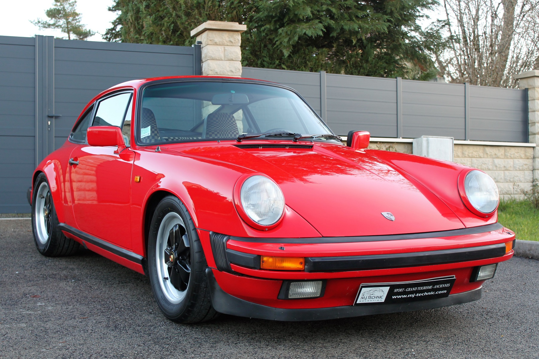 PORSCHE 911 3.2L 915 ROUGE INDIEN MJ TECHNIC (12)
