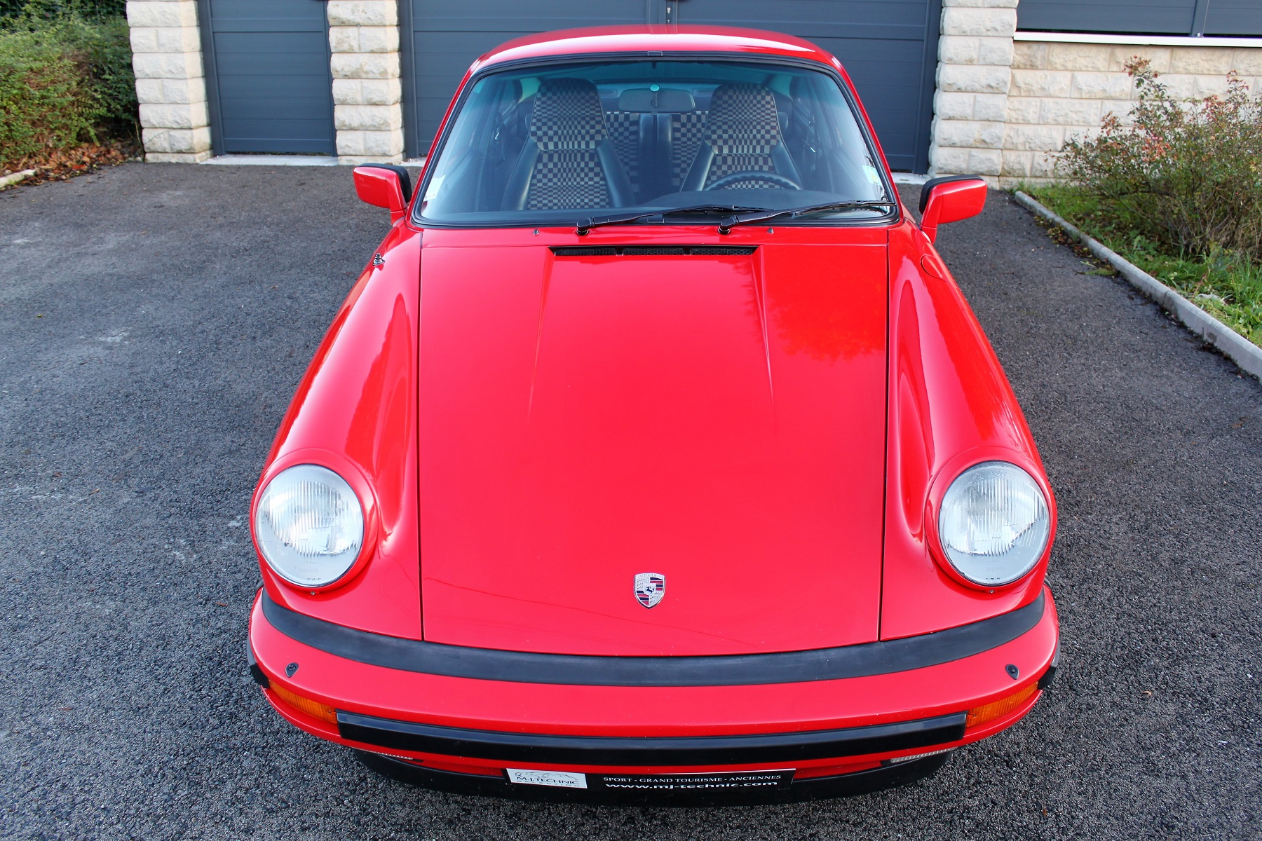 PORSCHE 911 3.2L 915 ROUGE INDIEN MJ TECHNIC (4)