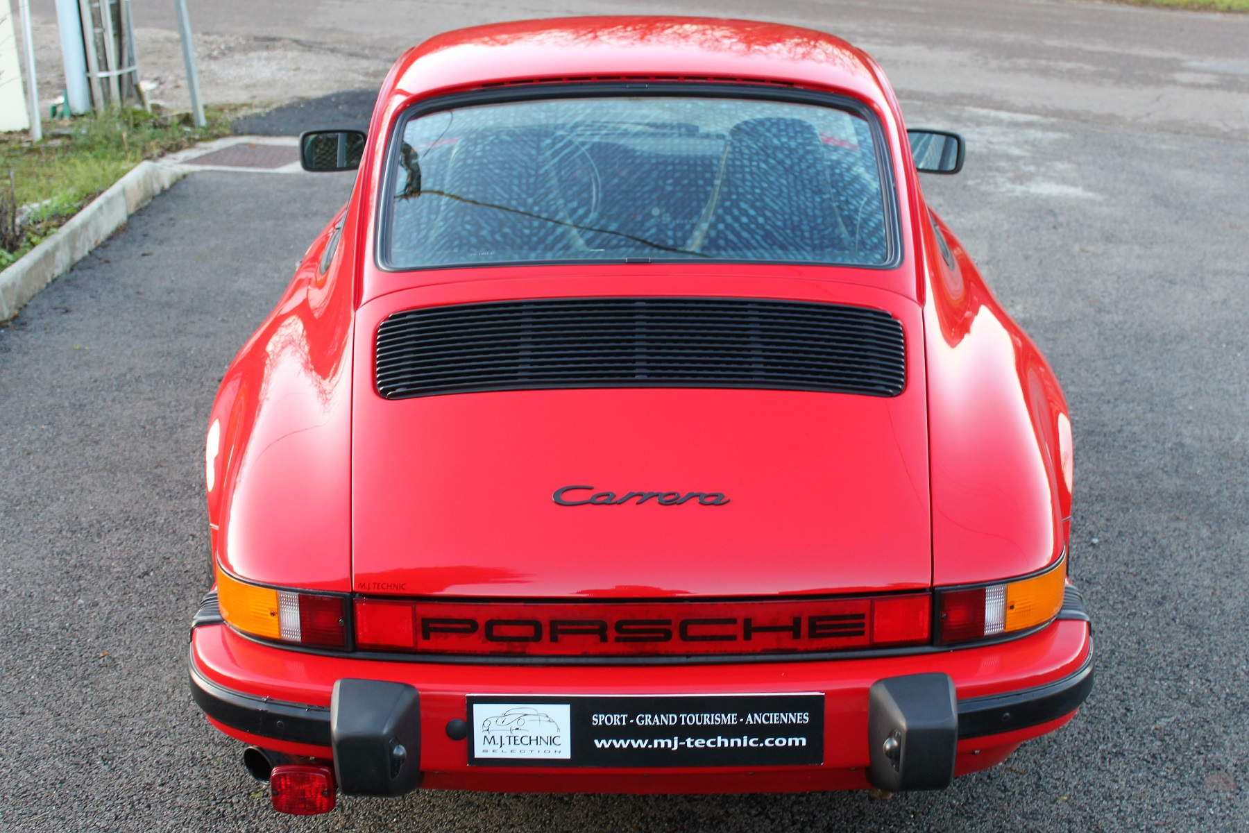 PORSCHE 911 3.2L 915 ROUGE INDIEN MJ TECHNIC (8)
