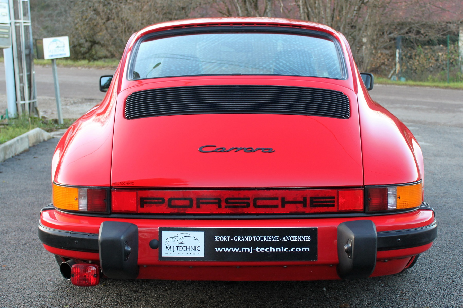 PORSCHE 911 3.2L 915 ROUGE INDIEN MJ TECHNIC (9)